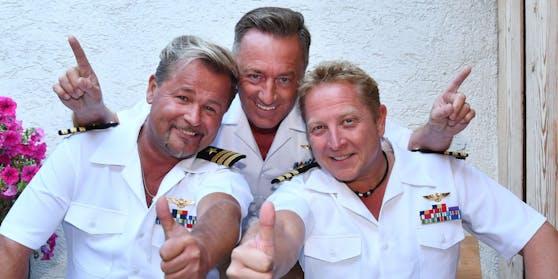 """Stefan Peters (rechts) ist Sänger der """"Schlagerpiloten"""""""