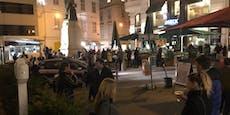 Wiener machen City zum größten Schanigarten der Stadt