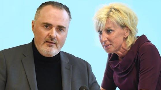 """Burgenlands Landeshauptmann Hans Peter Doskozilwill ein Lockdown-Ende in Österreich - ÖVP-Gesundheitssprecherin Gaby Schwarz nennt ihn """"Polterer""""."""