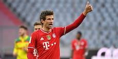 Corona überstanden: Müller-Assist nach 31 Sekunden