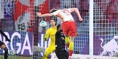 Kein Foul an Lazaro: Leipzig gewinnt in der 93. Minute