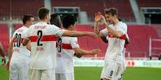 Kalajdzic-Tor bei Stuttgart-Gala gegen Krisen-Schalke