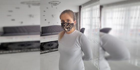 Patrycja (30) wurde aus einem Geschäft geschmissen, weil sie keine FFP2-Maske trug.