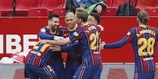 Dank Messi! Barca nach Sieg im Schlager wieder Zweiter