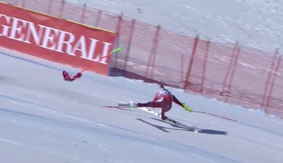 Rosina Schneeberger verliert die Kontrolle.