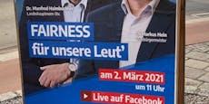 (Wahl)plakate verunstaltet, FPÖ sucht die Täter