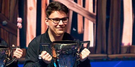 Der 18-jährige David Wang spielte sich mit Fortnite zu Millionen.
