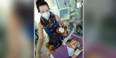 So hilft OÖ. Polizei herzkrankem Mädchen aus Graz