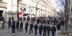 Polizei-Kessel stoppt Corona-Demo in Wien