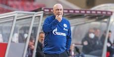 Krisen-Schalke schmeißt den nächsten Trainer raus