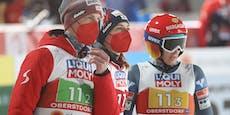 Skispringer fliegen im Mixed-Bewerb zu WM-Bronze