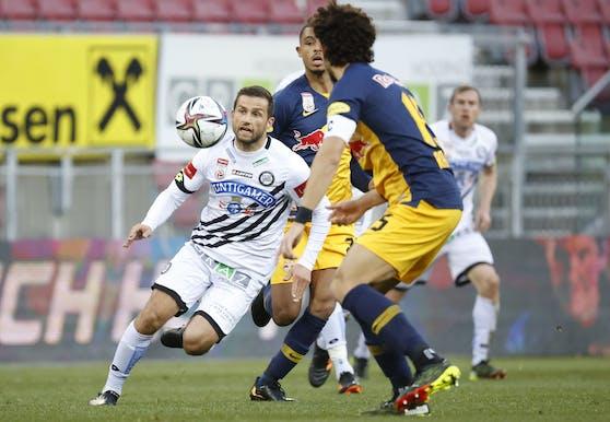 Sturm Graz fordert in Klagenfurt Salzburg.