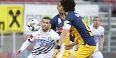 Salzburg verliert schon wieder gegen Sturm