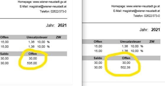 Pro Kind soll die Frau über 500 Euro nachzahlen.