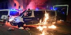 Barcelona brennt wegen Rapper Pablo Hasél