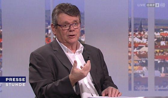 ÖGB-Boss Wolfgang Katzian - hier am Sonntag in der ORF-Pressestunde.