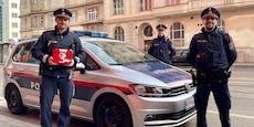 Polizei rettet Wiener (52) mit Defi das Leben