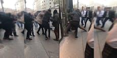 Polizei-Aktion gegen TikTok-Prügler in der Wiener City