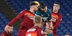 AC Milan besiegt die Roma, Ibrahimovic angeschlagen
