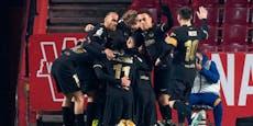 Cup-Drama! Barca siegt, bis 88. Minute noch 0:2 zurück