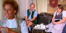 """So a Bledsinn!"" – Arabella schimpft mit Bauer im TV"