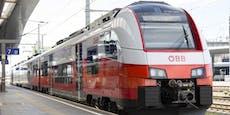 Corona-Infizierte fuhr mit ÖBB-Zug von Wien nach Graz