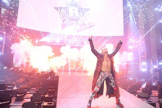 WWE-Legende Edge beim Royal Rumble