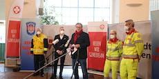 Stadt Wien eröffnet sechste Teststraße in Schönbrunn