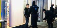 150 Teenies stürmen wegen Influencerin die Wiener City