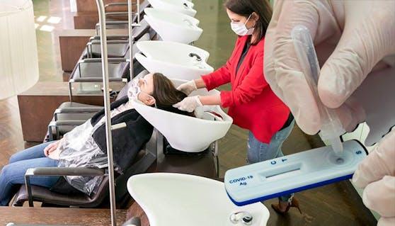 Friseurbesuche sind unter strengen Auflagen ab dem 08. Februar wieder möglich.