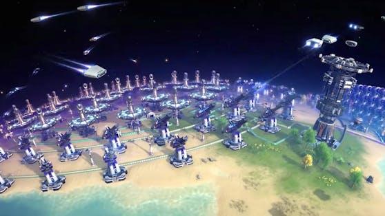 """""""Dyson Sphere Program"""" ist ein Sci-Fi-Aufbauspiel des chinesischen Entwicklers Youthcat Studio."""