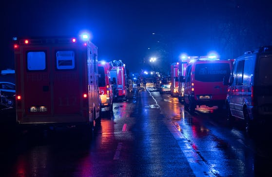 Berlin Feuer-Unfall