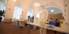 Schönbrunn: Corona-Tester pausieren für Hochzeitspaare
