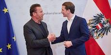 Arnie bringt Klima-Gipfel auch heuer nach Wien