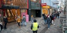 Shops sperren mit Super-Rabatten am Montag auf