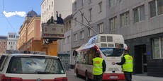 Bus-Panne sorgt für Verzögerungen in der Wiener City