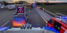 Lkw-Crash und Serienunfall legen die A2 lahm