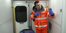 """Rettungssanitäter berührt mit """"Frozen""""-Parodie das Herz"""