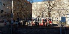 Sturm-Einsatz der Feuerwehr bei Schlumberger in Wien