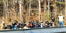 14 Flüchtlinge ohne Dokumente in NÖ aufgegriffen