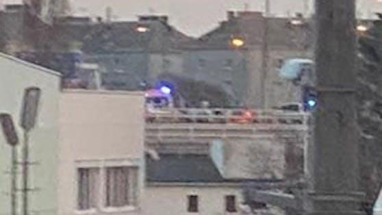 Geisterfahrer-Unfall am Knoten Nußdorf in Wien-Brigittenau