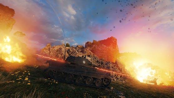 """Wargaming kündigt """"World of Tanks"""" für Steam an."""