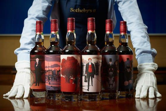 """Die """"Macallan Red Whisky Collection"""" wurde letztes Jahr beispielsweise um knapp 860.000 Euro ersteigert."""