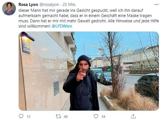 Ein Screenshot von Lyons Twitter-Post