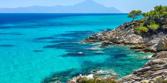 Halbinsel Kassandra in Griechenland