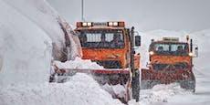 Kaltfront bringt Schnee und Temperatur-Chaos