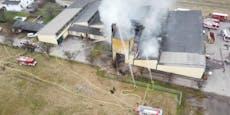 Explosion in Sägewerk – Großeinsatz in Prinzersdorf