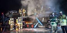 Mercedes-SUVs gehen in Flammen auf – 300.000 € Schaden