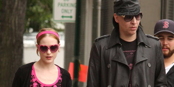 Evan Rachel Wood und Marilyn Manson