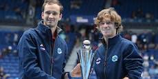 Russland schlägt Österreich-Bezwinger im ATP-Cup-Finale